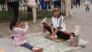 photo prise à Beijing lors d'un stage d'acupuncture