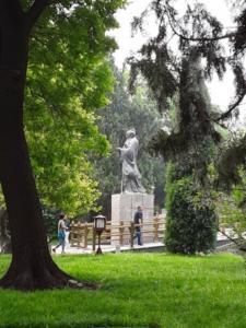 statue de Confucius Beijing