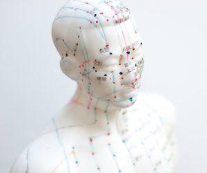 repérage des méridiens d'acupuncture