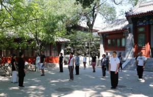 stage de QI GONG à Beijing en Chine